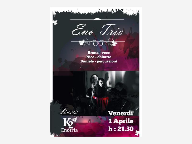 evento musica live - realizzazione locandine e stampati - metaweb