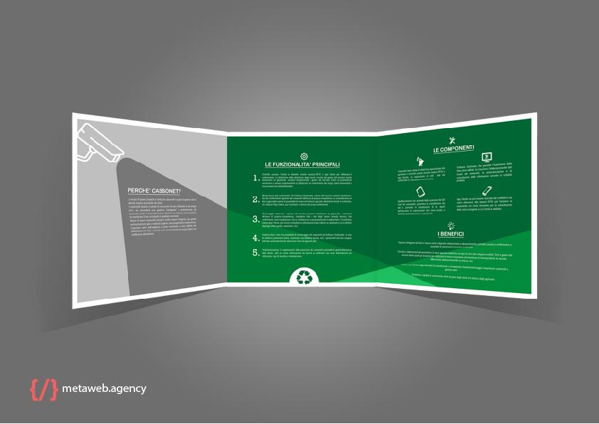 Mockup brochure - grafica web agency