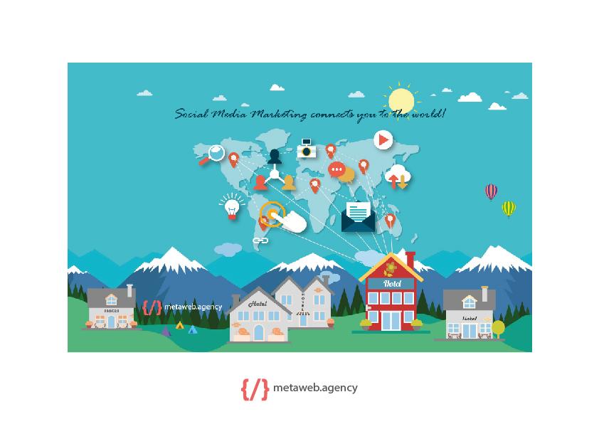 Infografica social network - metaweb - web agency